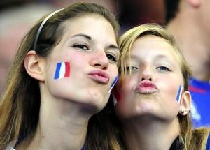 Les françaises aiment le football