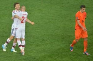 Victoire du Danemark contre les Pays Bas en match de poule
