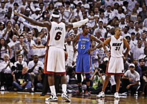 Résumé Oklahoma City v. Miami Heat