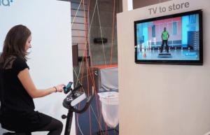TV to Store - Vélo connecté