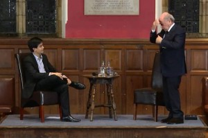 Sepp Blater à Oxford Union