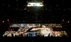 Cleveland Cavaliers projection 3D
