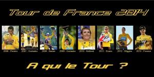 Les derniers vainqueurs du Tour à la Une.