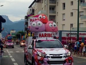 Le très convoité char Haribo !
