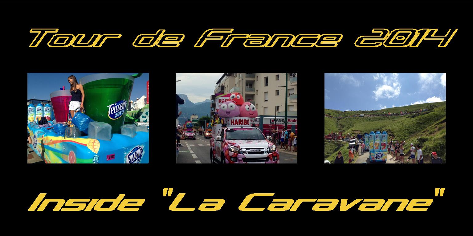 inside la caravane du tour de france. Black Bedroom Furniture Sets. Home Design Ideas