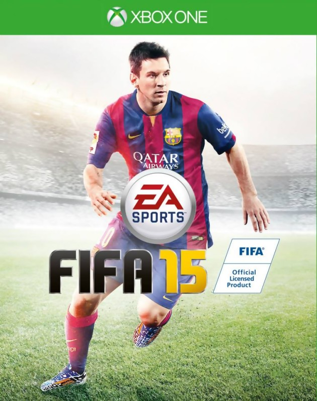 Jaquette Fifa 15 astuces XBOX one next gen